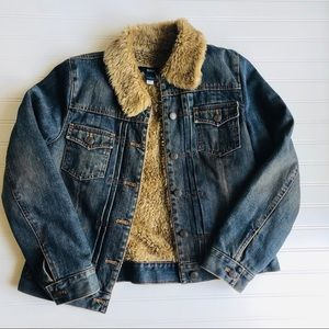 Gap Sherpa denim jacket